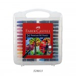 FABER-CASTELL PREMIUM HEXAGONAL OIL PASTELS SET OF 24