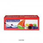 FABER-CASTELL TEMPRA FUN PAINTS 10 ML SET OF 6