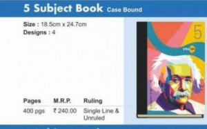 Navneet 5 Subject Book (Case Bound)(400pgs)