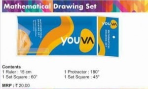 Navneet Mathematical Drawing Set (1pc)