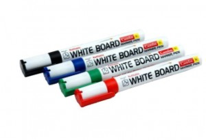 Camlin White Board Marker Mix (pack of 4)